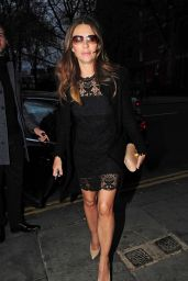 Elizabeth Hurley - Out in London, April 2015