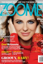 Elizabeth Hurley - Zoomer Magazine May 2015 Issue