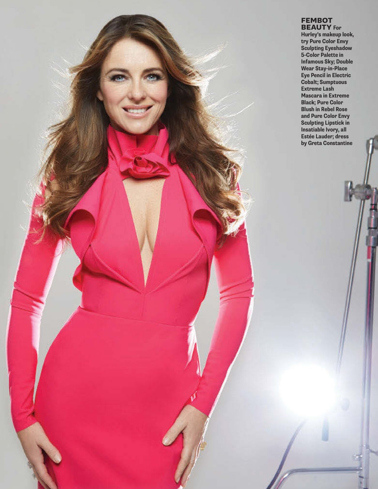 Elizabeth Hurley Zoomer Magazine May 2015 Issue