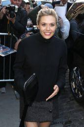 Elizabeth Olsen at The Apple Store in New York City, April 2015