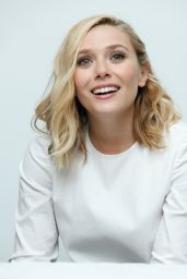 Elizabeth Olsen - Avengers: Age Of Ultron Press Conference in Burbank