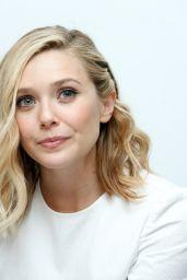 Elizabeth Olsen - Avengers: Age Of Ultron Press Conference in Burbank