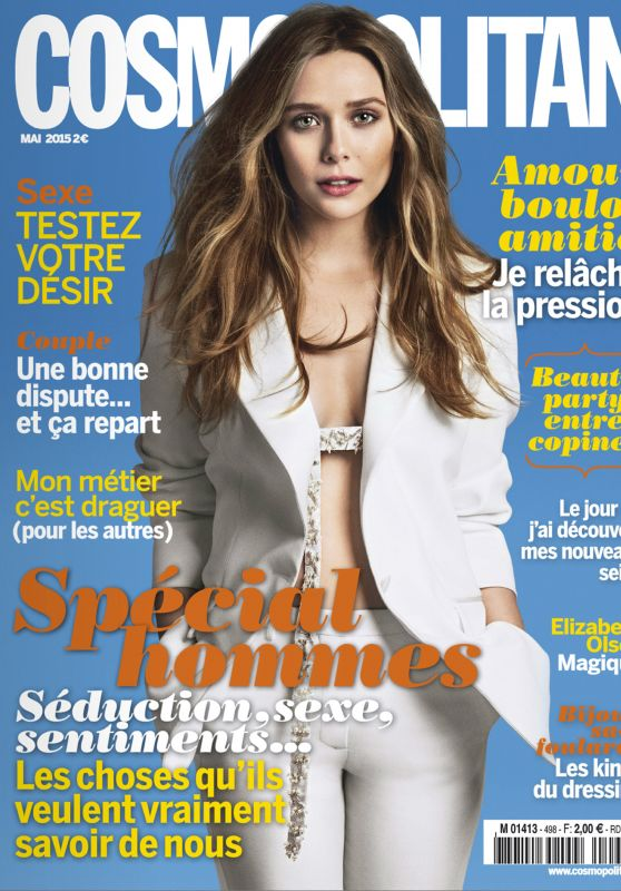 Elizabeth Olsen - Cosmopolitan Magazine May 2015 Issue