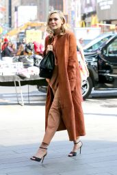 Elizabeth Olsen Style - Out in NYC, April 2015