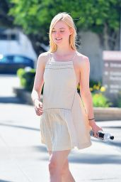 Elle Fanning Spring Fashion - Out in Studio City, April 2015