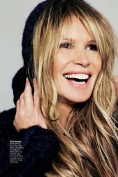 Elle Macpherson - Gioia Magazine (Italy) April 2015 Issue