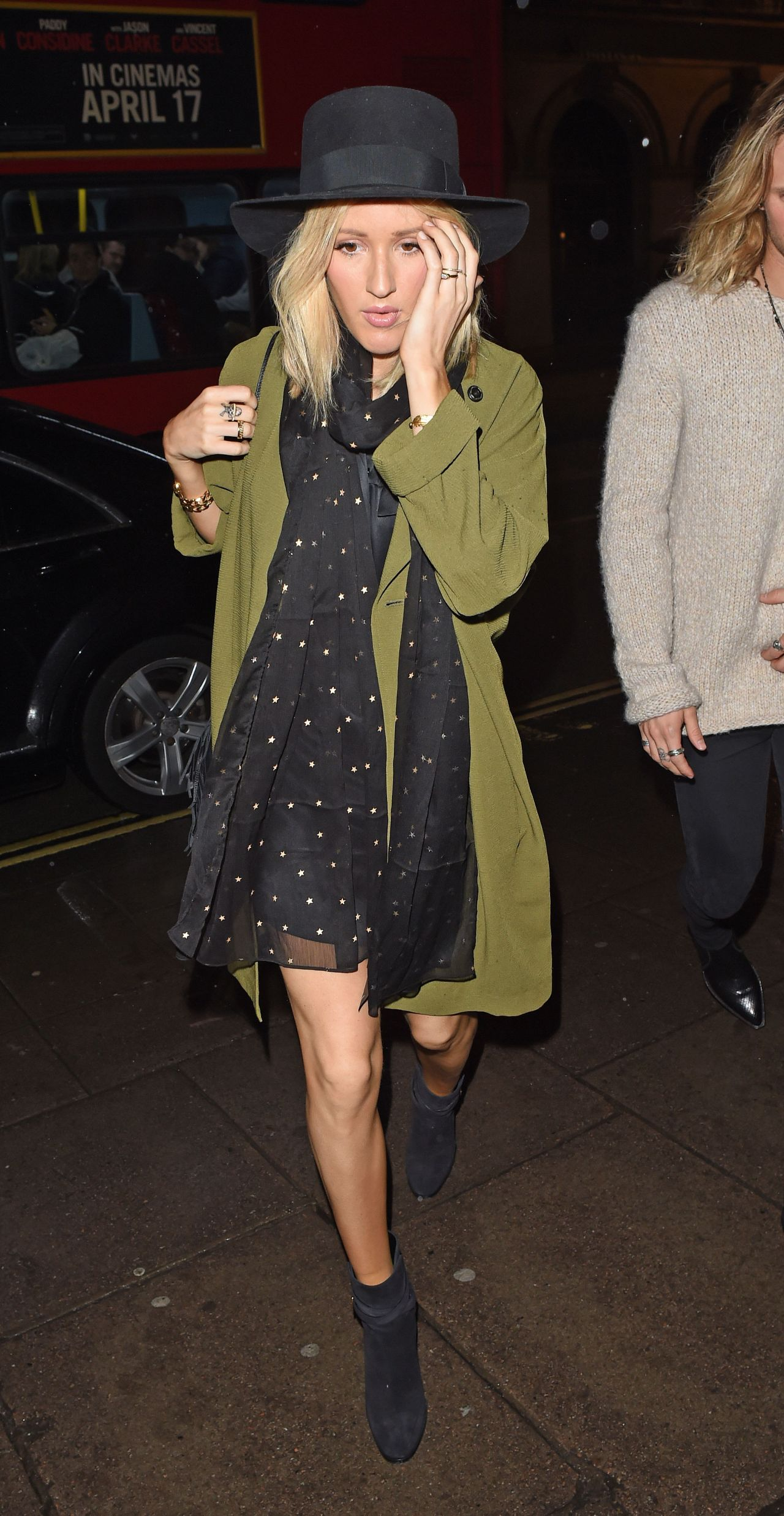 Ellie Goulding Night Out Style London April 2017