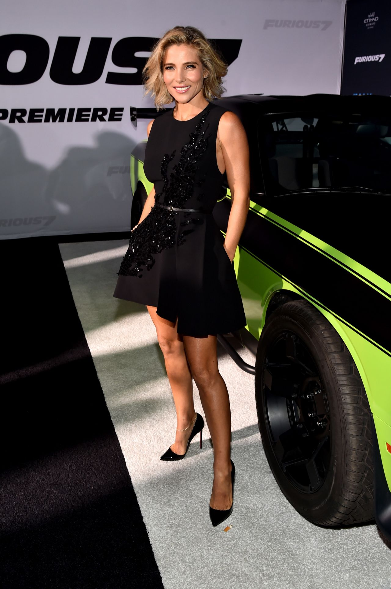 Elsa Pataky Furious 7 Premiere In Hollywood