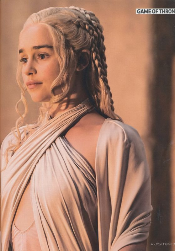 Emilia Clarke - Total Film Magazine June 2015 Issue