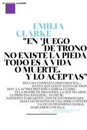 Emilia Clarke - Xl Semanal Magazine April 2015 Issue