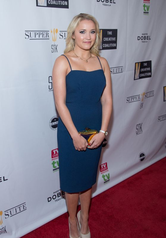 Emily Osment – The Creative Coalition 2015 Benefit Dinner at STK ...