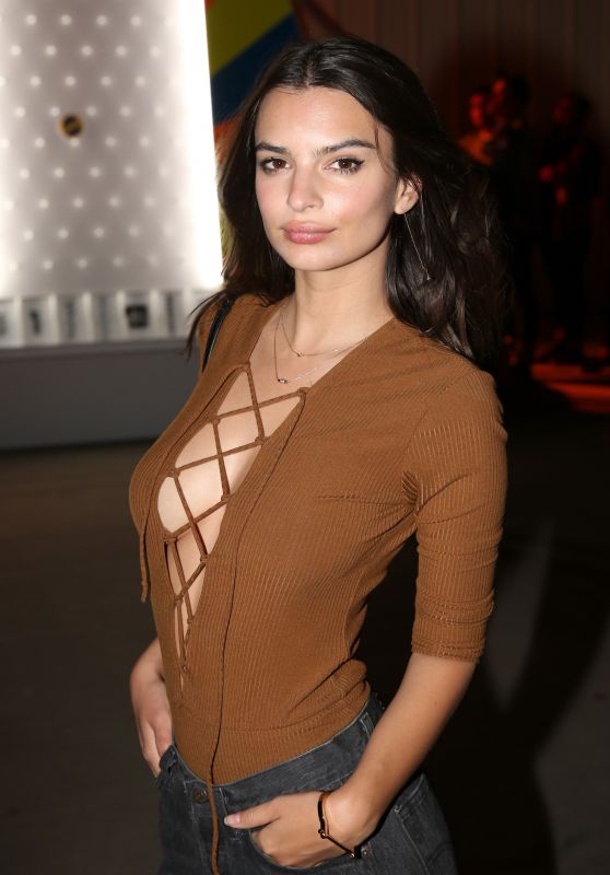 Emily Ratajkowski - NEON Carnival With PacSun in Thermal, California