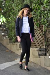 Emily Wickersham - Out in Los Angeles, April 2015