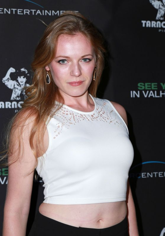 Emma Bell - See You In Valhalla Premiere in Hollywood
