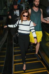 Emma Watson at LAX Airport, April 2015