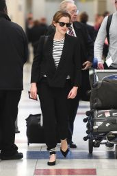 Emma Watson - JFK Airport in New York City, April 2015