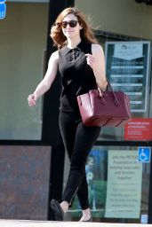 Emmy Rossum Casual Style - Out in West Hollywood, April 2015