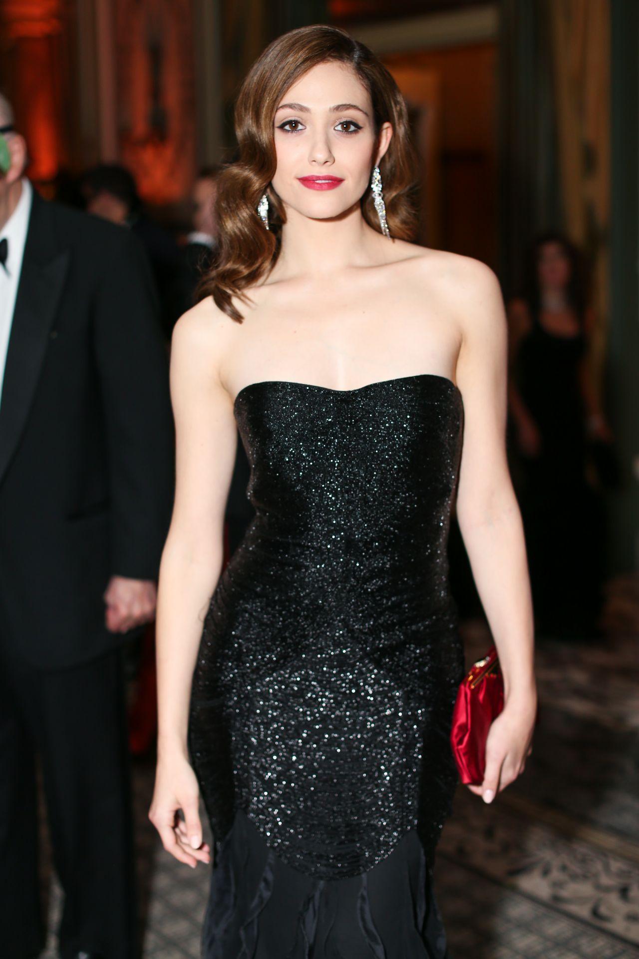 Emmy Rossum - Save Venice Un Ballo In Maschera Event in New York City