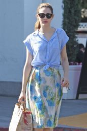 Emmy Rossum - Shopping in West Hollywood, April 2015
