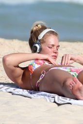 Erin Heatherton Bikini Pics - at Coogee Beach Sydney, April 2015