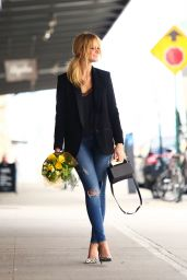 Erin Heatherton - Out in NYC, April 2015