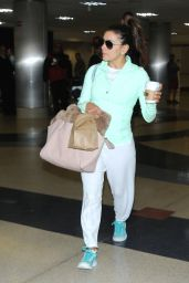 Eva Longoria at LAX Airport in Los Angeles, April 2015
