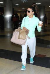 Eva Longoria at LAX Airport in Los Angeles, April 2015