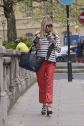 Fearne Cotton Out in London, April 2015