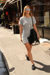 Ferne McCann at South Beach Fashion Launch in London, April 2015