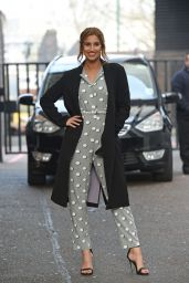 Ferne McCann Style - The London Studios, April 2015