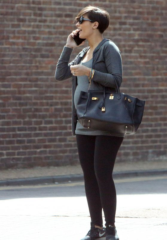 Frankie Sandford - Out in South West London, April 2015