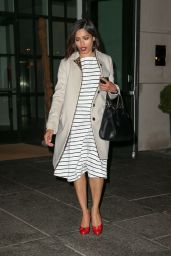 Freida Pinto Casual Style - Out in NYC, April 2015