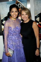 Freida Pinto - Desert Dancer special Screening in New York City