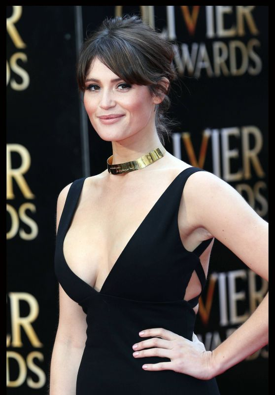Gemma Arterton - 2015 Olivier Awards in London