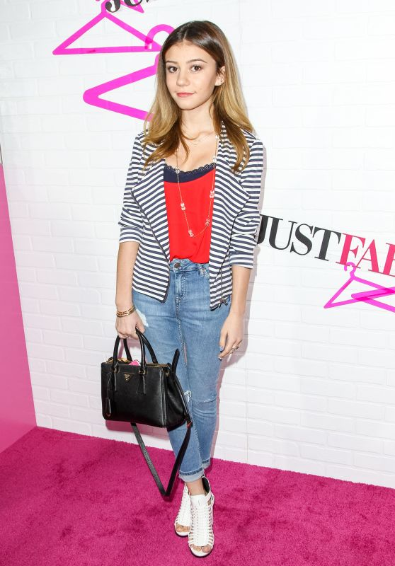 Genevieve Hannelius - JustFab Ready-To-Wear Launch Party in West Hollywood