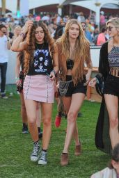 Gigi Hadid – 2015 Coachella Music Festival, Day 2, Empire Polo Grounds, Indio