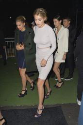 Gigi Hadid at Karl Lagerfeld