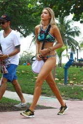 Gigi Hadid - Bikini Photoshoot in Miami, April 2015