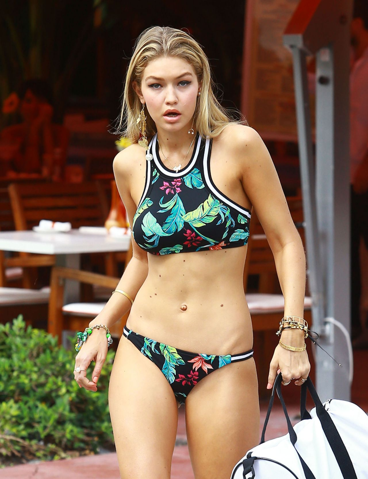 Gigi Hadid Bikini Photoshoot In Miami April 2015