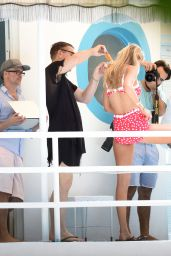 Gigi Hadid - Bikini & Swimsuit Photoshoot in Miami, April 2015