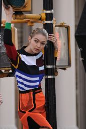 Gigi Hadid Photoshoot - New York City, April 2015