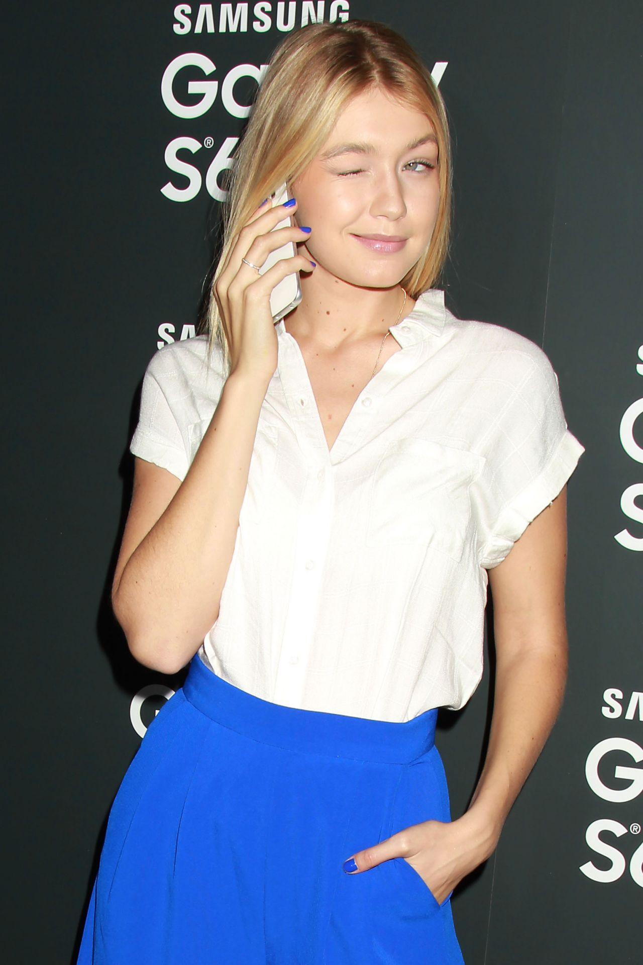 Gigi Hadid - Samsung Galaxy S6 and S6 Edge Launch in New York City