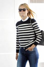 Gwyneth Paltrow - Arriving at JFK Airport in New York, April 2015