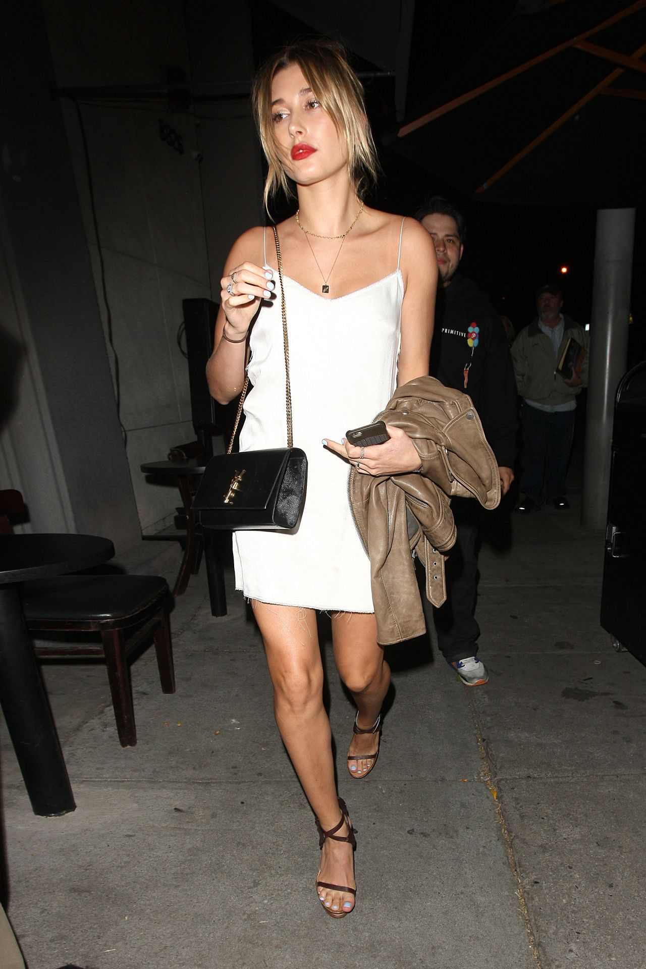 Hollywood White Mini Dress
