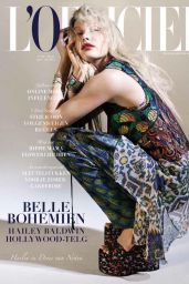 Hailey Baldwin - L'Officiel Magazine (Netherlands) April/May 2015 Issue