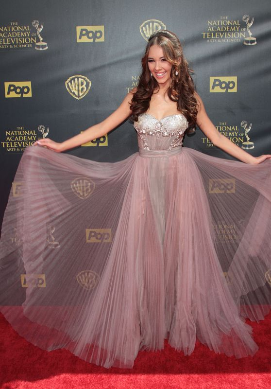 Haley Pullos – 2015 Daytime Emmy Awards in Burbank