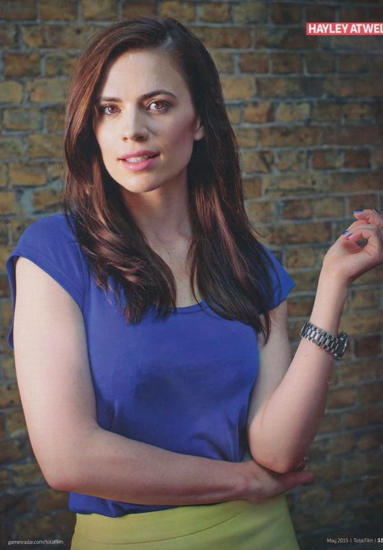 Hayley Atwell - Total Film Magazine May 2015 Issue