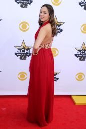 Hayley Orrantia – 2015 Academy Of Country Music Awards in Arlington