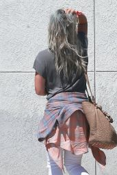 Hilary Duff - Arriving at a Studio in Hollywood, April 2015