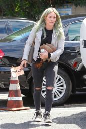 Hilary Duff Booty in Jeans - at a Dance Studio in Los Angeles, April 2015
